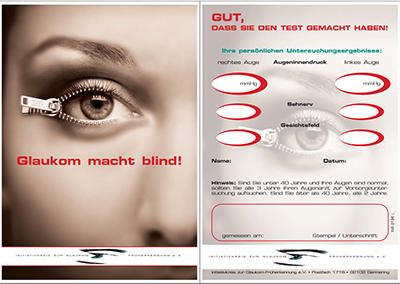 IGF Testkarte Glaukom